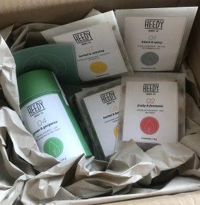 Heedy-Bio-Tee-Verpackung