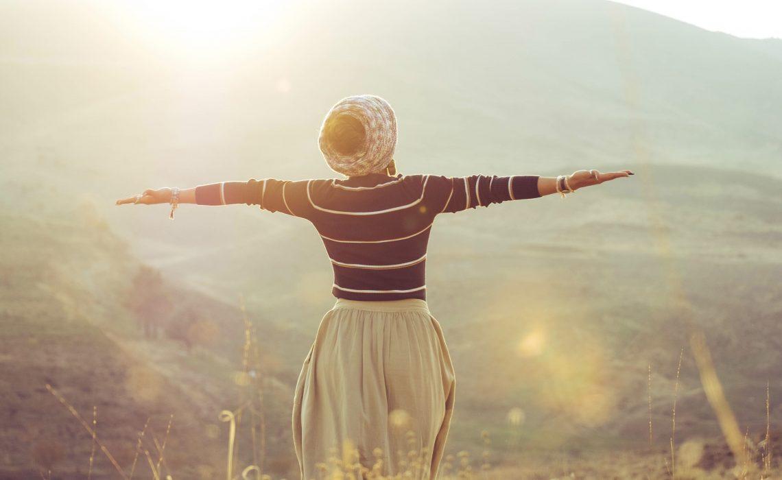 Loslassen um frei und glücklich zu sein